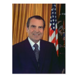 Richard Nixon Tarjeta Postal