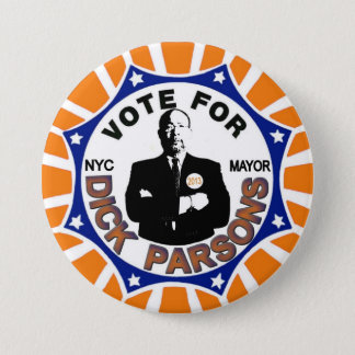 Richard Parsons for NYC Mayor 2013 Button