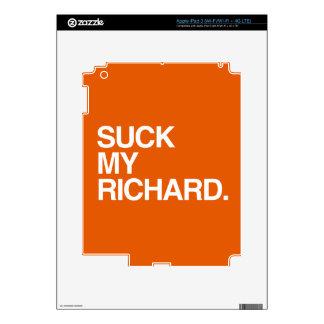 RICHARD PEGATINAS SKINS PARA iPad 3