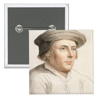 Richard Rich, First Baron Rich (c.1496-1567) engra Button