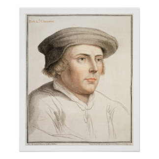 Richard Rich, First Baron Rich (c.1496-1567) engra Poster