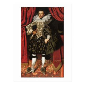 Richard Sackville by William Larkin Post Card