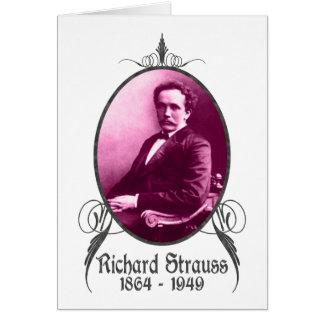 Richard Strauss Greeting Card