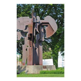 Richard T Gosser Memorial-horizontal Stationery