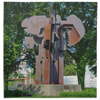 Richard T Gosser Memorial-vertical Cloth Napkin