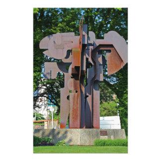 Richard T Gosser Memorial-vertical Stationery