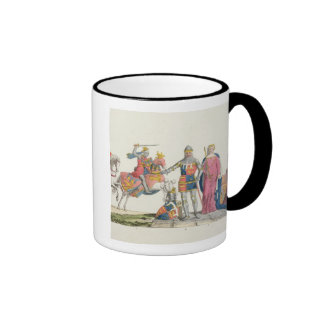 Richard the Lionheart, John of Gaunt, Edward III, Ringer Coffee Mug
