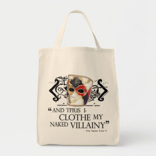 Richard The Third Quote Bags