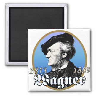 Richard Wagner 2 Inch Square Magnet