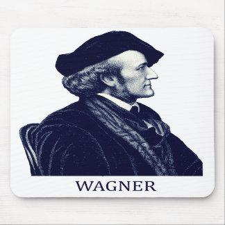 Richard Wagner azul Alfombrillas De Raton