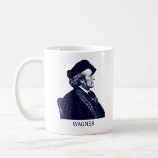 Richard Wagner, azul Taza