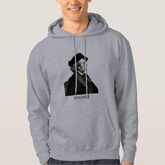 Richard Wagner, black Hoodie
