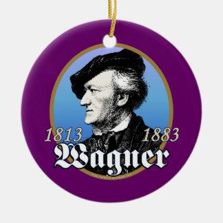 Richard Wagner Ceramic Ornament