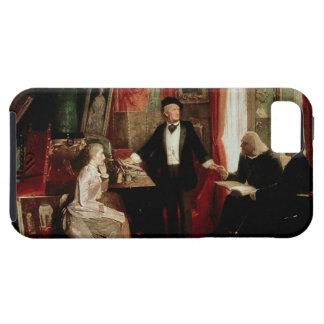 Richard Wagner con el daught de Franz Liszt y de L iPhone 5 Protector
