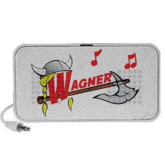 Richard Wagner - German Composer Notebook Speaker