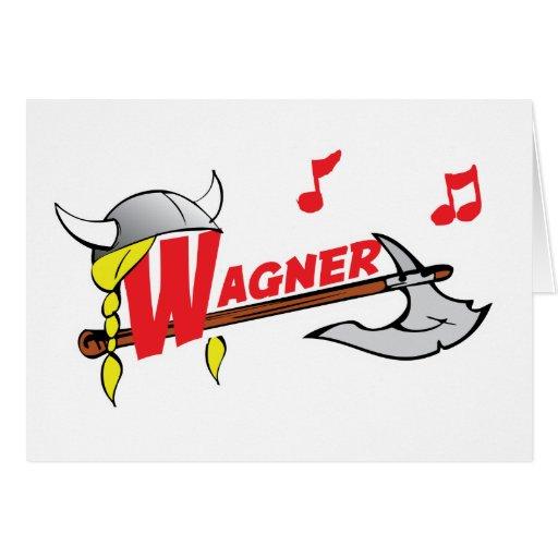 Richard Wagner Greeting Card