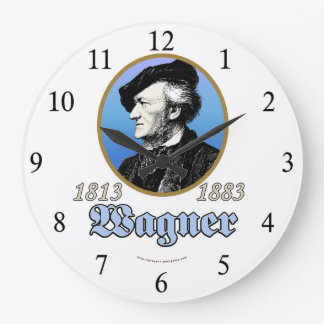 Richard Wagner Large Clock