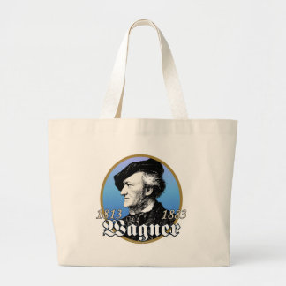 Richard Wagner Large Tote Bag
