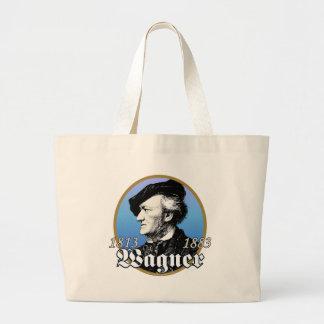 Richard Wagner Large Tote Bag