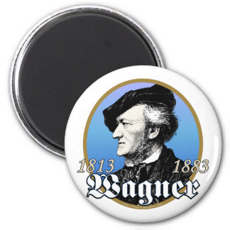 Richard Wagner 2 Inch Round Magnet