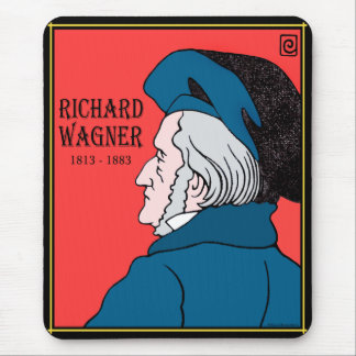 Richard Wagner Mousepad Tapetes De Ratón