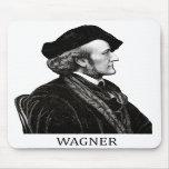 Richard Wagner, negro Alfombrillas De Ratón