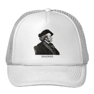 Richard Wagner negro Gorras De Camionero