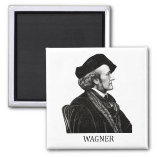 Richard Wagner negro Imán Para Frigorífico