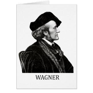 Richard Wagner, negro Tarjeta De Felicitación