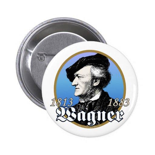 Richard Wagner Pin Redondo 5 Cm