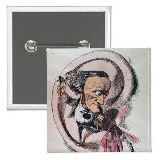 Richard Wagner que parte el tímpano del mundo Pins