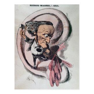Richard Wagner que parte el tímpano del mundo Postal