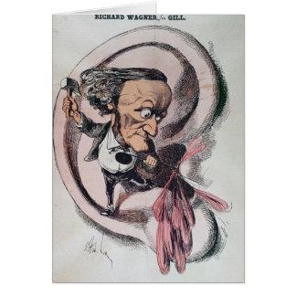 Richard Wagner splitting the ear drum of world Card