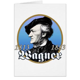 Richard Wagner Tarjeta