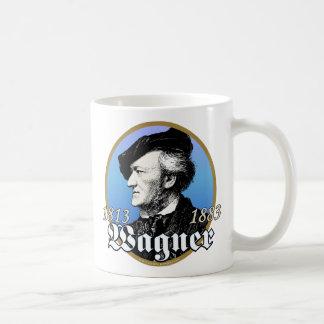 Richard Wagner Taza Básica Blanca