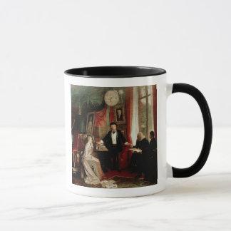 Richard Wagner with Franz Liszt and Liszt's daught Mug