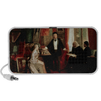 Richard Wagner with Franz Liszt and Liszt's daught Portable Speaker