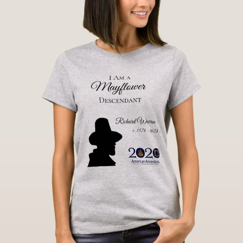 Richard Warren Mayflower Womens T_shirt