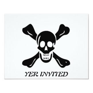 Richard Worley-Black 4.25x5.5 Paper Invitation Card