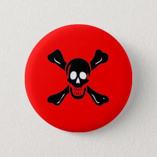 Richard Worley-Black Pinback Button