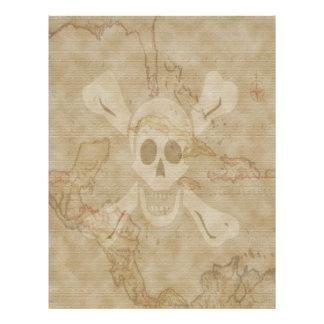 Richard Worley Map #13 Letterhead Template