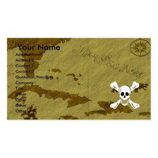 Richard Worley Map #1 Business Card
