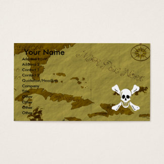 Richard Worley Map #1 Business Card