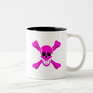 Richard Worley-Pink Two-Tone Coffee Mug