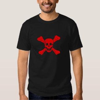 Richard Worley red skull t-shirt