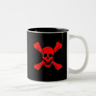 Richard Worley-Red Two-Tone Coffee Mug