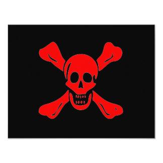 """Richard Worley-Rojo Invitación 4.25"""" X 5.5"""""""