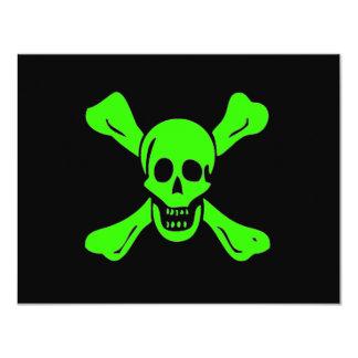 """Richard Worley-Verde Invitación 4.25"""" X 5.5"""""""