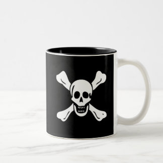Richard Worley-White Two-Tone Coffee Mug