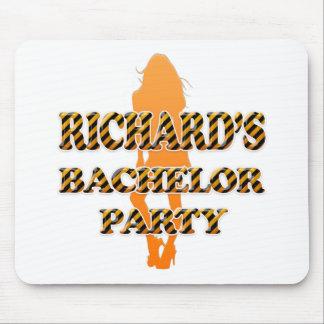 Richard's Bachelor Party Mouse Pad